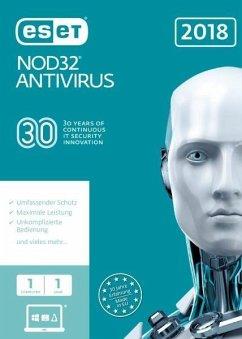 ESET NOD32 Antivirus 2018 Edition 1 User (FFP)....