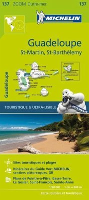 Michelin Zoom Guadeloupe Map