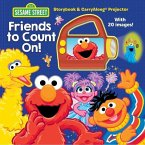 Sesame Street: Friends to Count On!: Storybook & Carryalong Projector