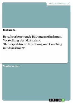 9783668550117 - S., Melissa: Berufsvorbereitende Bildungsmaßnahmen. Vorstellung der Maßnahme ´´Berufspraktische Erprobung und Coaching mit Assessment´´ - Buch