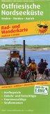 PUBLICPRESS Rad- und Wanderkarte Ostfriesische Nordseeküste, Westlicher Teil