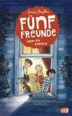 Fünf Freunde jagen die Entführer / Fünf Freunde Bd.13 (Mängelexemplar)
