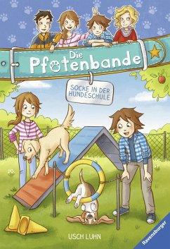 Socke in der Hundeschule / Die Pfotenbande Bd.5 (eBook, ePUB) - Luhn, Usch