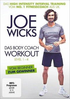 Joe Wicks - Das Body Coach Workout, Level 1-4 - Wicks,Joe