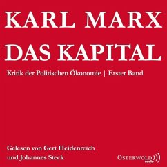 Das Kapital, 6 Audio-CDs - Marx, Karl