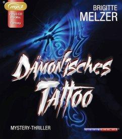 Dämonisches Tattoo, 1 MP3-CD - Melzer, Brigitte