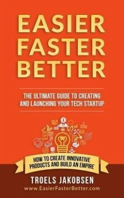 9788799985951 - Jakobsen, Troels: Easier Faster Better - The Ultimate Guide to Creating and Launching Your Tech Startup (eBook, ePUB) - Bog