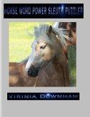 Horse Word Power Sleuth Puzzler (eBook, ePUB)