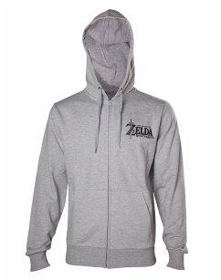 Zelda Hoodie -XL- Sheikah's Auge auf der Rückseite