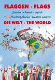Flaggen Aufkleber - Die Welt / Flags - The world
