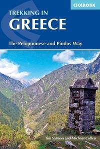 Trekking in Greece: The Peloponnese and Pindos Way - Salmon, Tim; Cullen, Michael