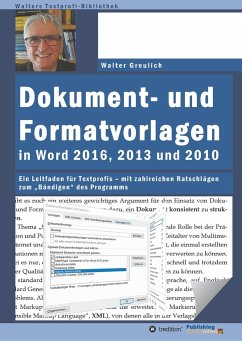 Dokument- und Formatvorlagen in Word 2016, 2013...