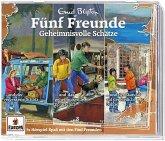 Fünf Freunde 3er-Box - Geheimnisvolle Schätze, 3 Audio-CD