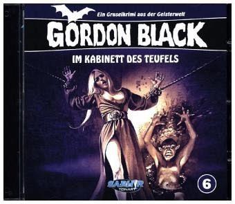 gordon black im kabinett des teufels 1 audio cd. Black Bedroom Furniture Sets. Home Design Ideas