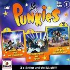 Die Punkies 3er Box, 3 Audio-CD