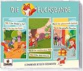 Die Fuchsbande 3er Detektiv-Box, 3 Audio-CD