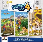 Schlau wie Vier 3er Wissens-Box, 3 Audio-CD