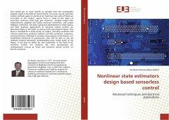 Nonlinear state estimators design based sensorless control