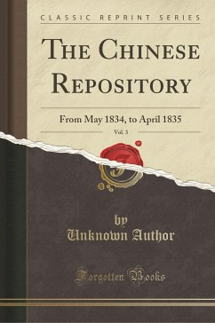 The Chinese Repository, Vol. 3
