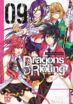 Buch-Reihe Dragons Rioting