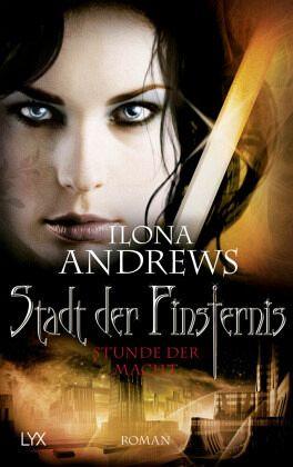 Buch-Reihe Stadt der Finsternis von Ilona Andrews
