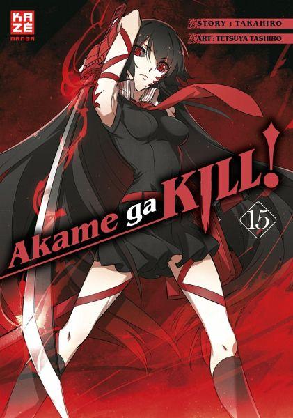 Buch-Reihe Akame ga KILL!