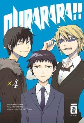 Buch-Reihe Durarara!!