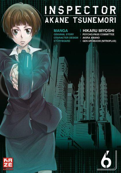 Buch-Reihe Inspector Akane Tsunemori