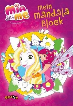 Mia and me - Mein Mandala Block - Hahn, Gerhard