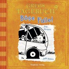 Böse Falle! / Gregs Tagebuch Bd.9 (MP3-Download) - Kinney, Jeff
