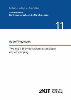 Two-Scale Thermomechanical Simulation of Hot Stamping