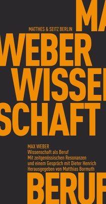 Wissenschaft als Beruf (eBook, ePUB) - Weber, Max