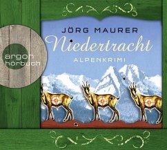 Niedertracht / Kommissar Jennerwein ermittelt Bd.3 (5 Audio-CDs) - Maurer, Jörg
