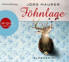 Föhnlage / Kommissar Jennerwein ermittelt Bd.1 (4 Audio-CDs) - Maurer, Jörg