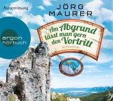 Am Abgrund lässt man gern den Vortritt / Kommissar Jennerwein Bd.10 (6 Audio-CDs)