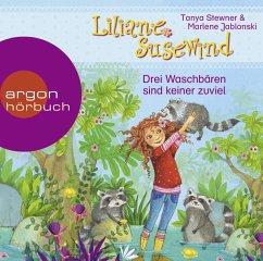 Drei Waschbären sind keiner zu viel / Liliane Susewind ab 6 Jahre Bd.8 (1 Audio-CD) - Stewner, Tanya