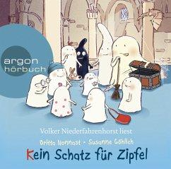 Kein Schatz für Zipfel, 1 Audio-CD - Nonnast, Britta; Göhlich, Susanne
