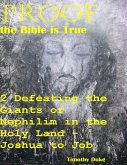 Proof the Bible Is True: 2 Defeating the Giants or Nephilim In the Holy Land - Joshua to Job (eBook, ePUB)