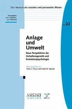 Anlage und Umwelt (eBook, PDF)