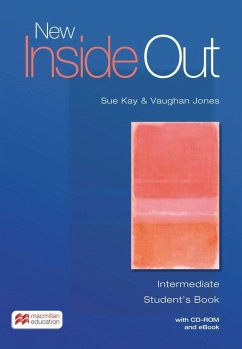 New Inside Out. Intermediate. Student's Book with ebook and CD-ROM - Kay, Sue; Jones, Vaughan