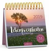 Lebensweisheiten 2019. Postkartenkalender