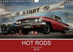 HOT RODS - V8 aus Leidenschaft (Wandkalender 2018 DIN A4 quer)