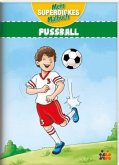 Mein superdickes Malbuch. Fußball