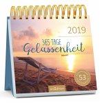 365 Tage Gelassenheit 2019. Postkartenkalender