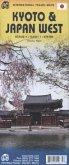 International Travel Map ITM Kyoto & Japan West; International Travel Map ITM Japan West & Kyoto