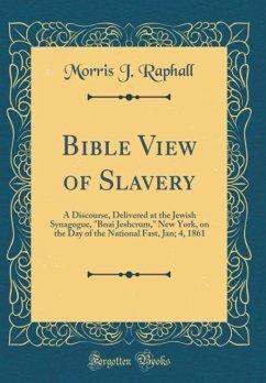 Bible View of Slavery