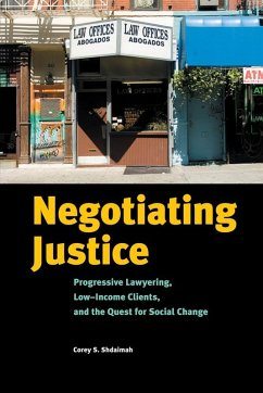 Negotiating Justice (eBook, ePUB) - Shdaimah, Corey S.