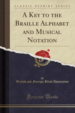 A Key to the Braille Alphabet and Musical Notat...