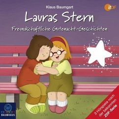 Freundschaftliche Gutenacht-Geschichten / Lauras Stern Gutenacht-Geschichten Bd.12 (1 Audio-CD) - Baumgart, Klaus