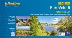 Bikeline Radtourenbuch Eurovelo 6 Frankreich Ost